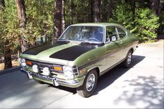 1970 Opel Kadett – I purchased it in Germany.  Fantastic winter traction for a light rear wheel drive.  4 speed manual transmission with a 1.1 liter engine.  Fast and Fun!  Traded it for a Volvo.