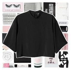 """GIVEAWAY → read the description + join !"" by solastamel ❤ liked on Polyvore featuring Boohoo, Fujifilm, Christy, Charlotte Russe, Lancôme, Calvin Klein, Givenchy, Bloomingville, Sunday Somewhere and Herbivore"