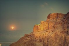 https://flic.kr/p/anCe83   Masada Herod's Palace Moonrise