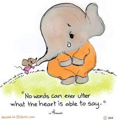 Words quote via www.SketchesinStillness.com
