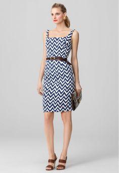 Adorable chevron zig-zag dress by Milly.