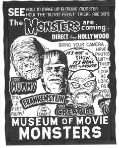 Spook show ad (Early 1960s)