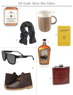 Gift Guide: Manly Man Edition