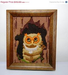 This could go next to the other owl embroidery