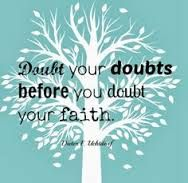 quotes about doubt and faith - Google Search