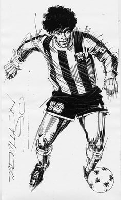 Maradona - Paul Trevillion Official Website