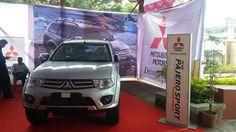 Pajero Car display by ShaktiMotors at Vivian Mall, Thane