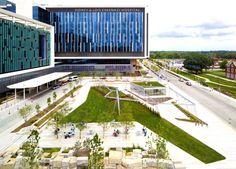 Arquitetura Sustentavel: Hospital norte-americano ganha horta comunitária g...