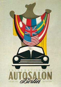 IAA Plakat 1951