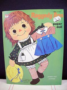 paper dolls. When I was sick my mom always stopped at the pharmacy next door to my pediatrician's office and let me pick out paper dolls.