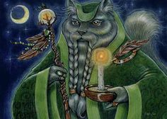 Shaman's Moon Painting by Sin D Piantek - Can be purchased as a greeting card on Fine Art America or as a 8 x 10 matted art print directly from artist for $22.00. (Includes shipping) Contact: sindp56@me.com Will take credit card or you can send check.