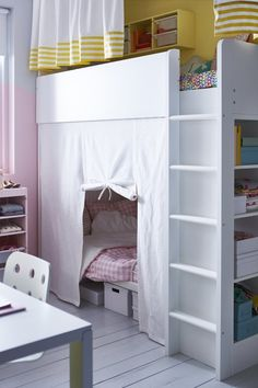 lits mezzanine et lits superpos s les mod les les plus astucieux pour les enfants kids rooms. Black Bedroom Furniture Sets. Home Design Ideas