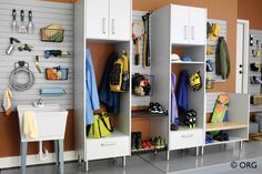 Garage Cabinets | Custom Closets by Kenney-Moise, Inc. - Mobile, AL