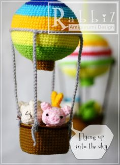 Amigurumi Hot Air Balloon