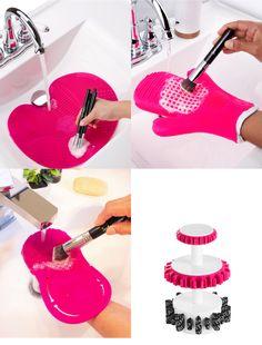 Dicas de utensílios que vão ter ajudar a lavar os seus pincéis de maquiagem. Saiba quais são eles