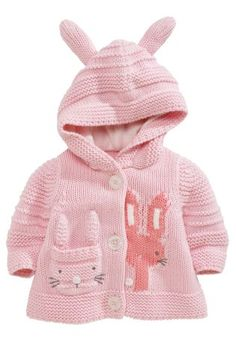 Buy Bunny Hooded Cardigan (0-18mths) from the Next UK online shop