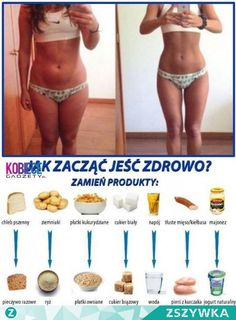 Zobacz zdjęcie Zacząć jeść zdrowo w pełnej rozdzielczości Healthy Alternatives, Healthy Options, Get In Shape, How To Stay Healthy, Fitness Inspiration, Fitness Tips, Natural Remedies, Lunch Box, Food And Drink