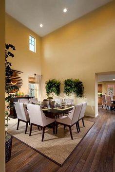 Brookfield Homes Model Dining Room
