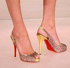 Christian Louboutin Glitter Numero Prive Pumps - One of my favs