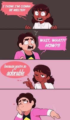 Connie Steven Universe, Steven Universe Pictures, Steven Universe Wallpaper, Steven Universe Drawing, Steven Universe Ships, Steven Universe Movie, Future Memes, Connie Stevens, Cat Stevens
