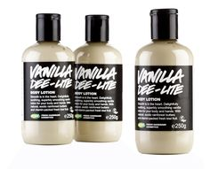 Vanilla Dee-Lite body lotion is an essential for vanilla fans thanks to the rich, sweet scent of Fair Trade vanilla absolute.