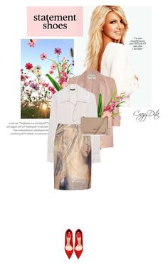 """"""" Me trying to look for a fcuk to give """" by crazydita on Polyvore featuring Britney Spears, Designs by Lauren, River Island, Plein Sud, Giles, Vivienne Westwood and statementshoes"""