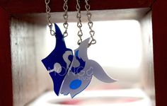 Kindred The Eternal Hunters necklace from League of por MongoStudio