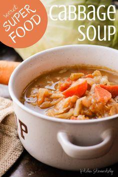 Cabbage Soup Secret Super Food