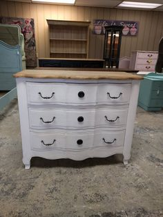 French Chest of Drawers Princess Room, Little Princess, Shabby Chic Chest Of Drawers, Baby Changing Table, Dresser, French, Furniture, Home Decor, Products