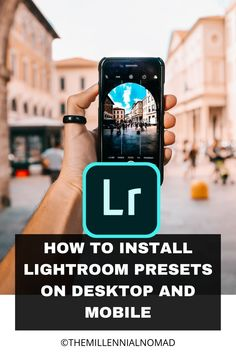 How to install the Lightroom presets you just downloaded you wonder? here is a free guide on how to install them on desktop and mobile Learn Photography, Photography For Beginners, Photography Tutorials, Photography Business, Amazing Photography, Profile Website, Edit My Photo, Edit Your Photos, Take Better Photos