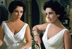 It always comes back to Elizabeth Taylor's perfect face
