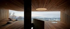 Stage of Forest: Ski Pavilion at Songhua Lake Resort of Jilin, China by META-Project   Yellowtrace