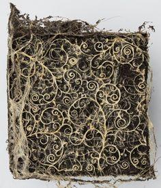 Diana Scherer an NL artist weaving/sculpting plants and trees