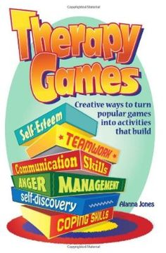 Therapy Games: Creative Ways to Turn Popular Games Into Activities That Build Self-Esteem Teamwork Communication Skills Anger Management Self-Discovery and Coping Skills Therapy Games, Therapy Activities, Art Therapy, Creative Activities, Play Therapy, Therapy Ideas, Therapy Tools, Group Activities, Counseling Activities