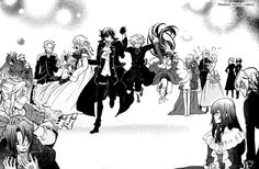 Pandora Hearts (Japanese: パンドラハーツ, Pandora Haatsu) is a manga series created Jun Mochizuki that came out in May, 2006, and ended in March, 2015.