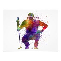 217 Best Golf Art And Painting Images Golf Art Painted Canvas