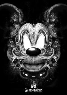 Nicolas Obery - Fantasmagorik Mickey