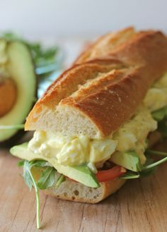 Greek Yogurt Egg Salad Sandwich - Damn Delicious