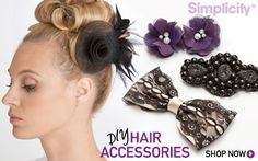 DIY Hair Accessories from simplicity.com