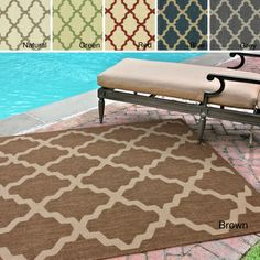nuLOOM Outdoor Moroccan Trellis Rug (8' x 11') | Overstock.com Shopping - Great Deals on Nuloom 7x9 - 10x14 Rugs