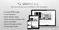Discount Deals GrayScale - Responsive HTML5/CSS3 templateonline after you search a lot for where to buy