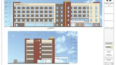 Home2Suites by Hilton - 5-story, 117-room hotel proposed for a location on Thompson Street.
