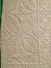 Telling Stories Through the Needle's Eye: Welsh Quilt Museum Hand Quilting Patterns, Longarm Quilting, Free Motion Quilting, Textile Patterns, Machine Quilting, Quilting Designs, Quilting Ideas, Textiles, Whole Cloth Quilts
