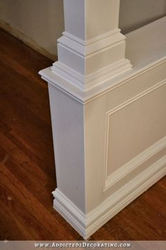 how to build pony walls with columns