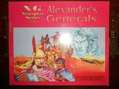 Alexander s Generals Board Game Wargame Strategy RPG gioco da tavolo Xeno Games