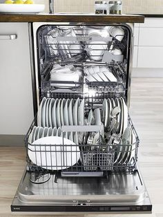 The modern-day convenience of a household dishwasher is a huge time-saver. But d… The modern-day convenience of a household dishwasher is a huge time-saver. But did you know there are several things you can't clean in a dishwasher? Pin: 550 x 733 Deep Cleaning Tips, House Cleaning Tips, Diy Cleaning Products, Spring Cleaning, Cleaning Hacks, Cleaning Appliances, Kitchen Appliances, Small Appliances, Kitchen Cleaning