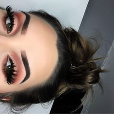 Spring color eyeshadow makeup looks red eyeshadow Smokey eye deep eyeshadow eyebrows on fleek beat face full face beauty Eyes : Pink Eyeshadow CLINIQUE BEAUTY Glam Makeup, Baddie Makeup, Cute Makeup, Gorgeous Makeup, Pretty Makeup, Skin Makeup, Beauty Makeup, Hair Beauty, Makeup Goals