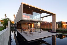 Built by Jonathan Segal FAIA in San Diego, United States with surface 5300.0. Images by Matthew Segal. The Cresta is a 5,300 sq foot single-family residence designed and constructed entirely out of cast in place concrete...