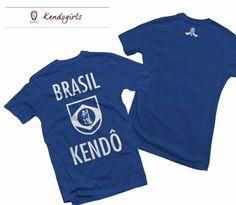 Camiseta Kendo Brasil #kendo #kenshi #kendobrasil #kendolife #shinai #faito #katana #nijutsu #kenjutsu #ocaminhodaespada #cbk