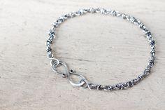 Unique Sterling Silver Chain Bracelet; $34